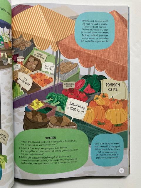 Grote Groene Doeboek marktpagina