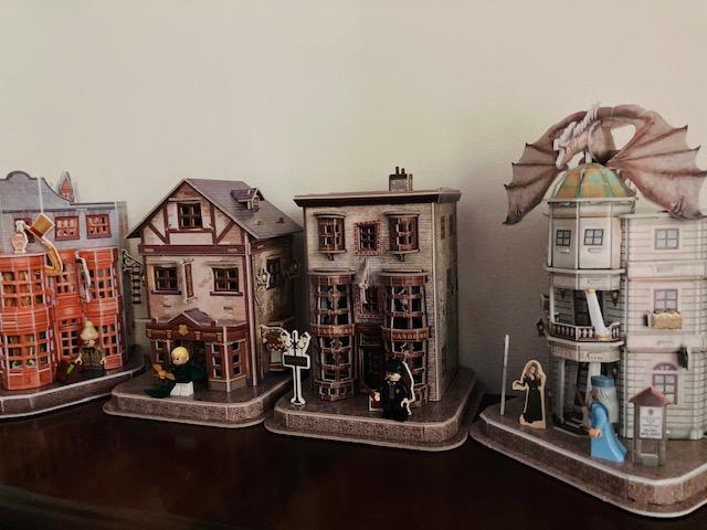 3D puzzel Diagon Alley set