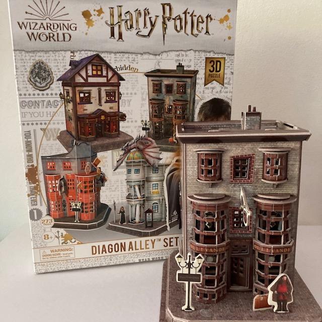 Diagon Alley 3D puzzeldoos