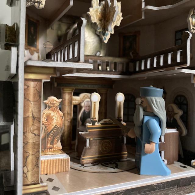 3D puzzel Gringotts binnendetails