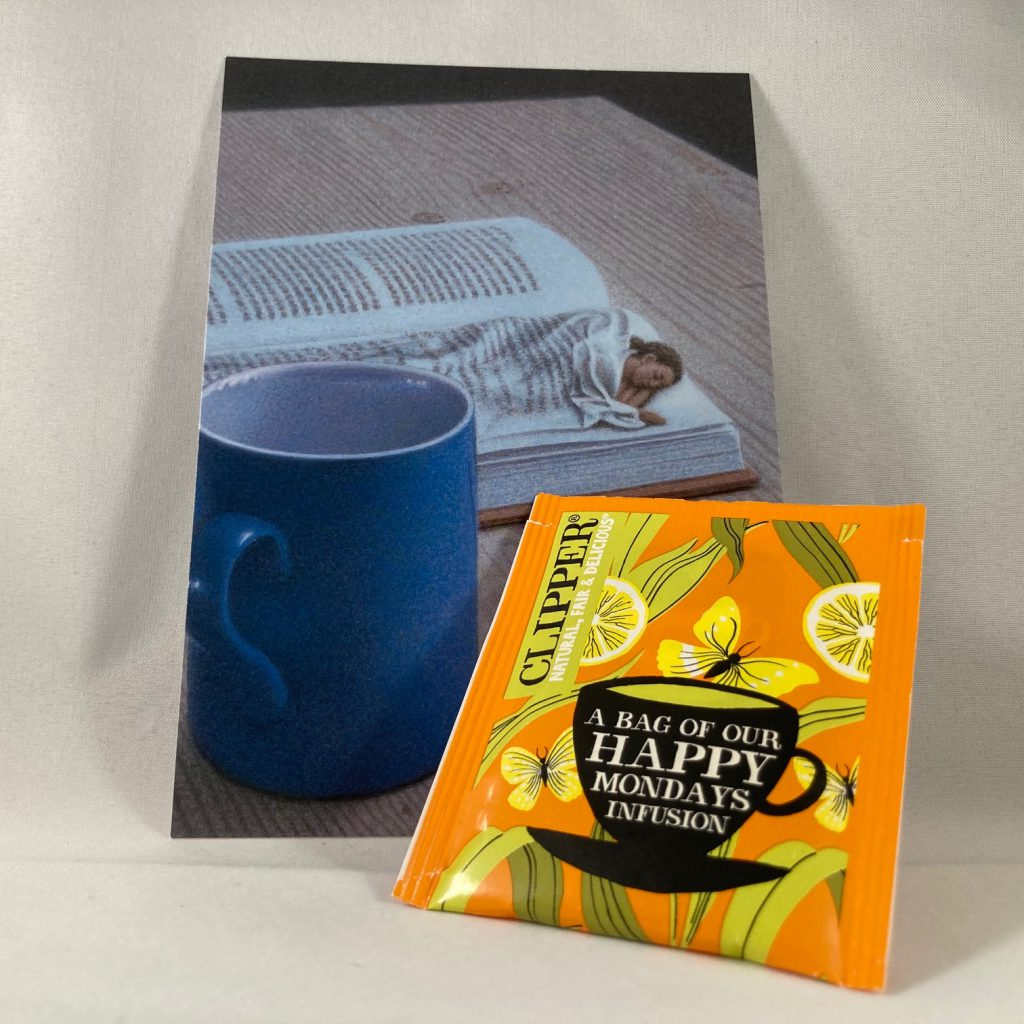 Kaart met thee